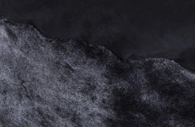 xxl lammfell sitzsack bean bag pouf kissen fell schaffell grau sheepskin 120cm ebay. Black Bedroom Furniture Sets. Home Design Ideas
