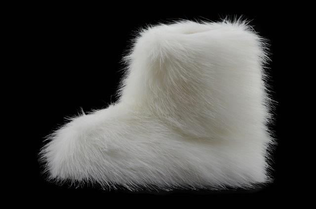 Hausschuhe Hüttenschuhe Yeti Fell Lammfell Schafwolle